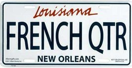 French Quarter Louisiana License Plate - $9.89