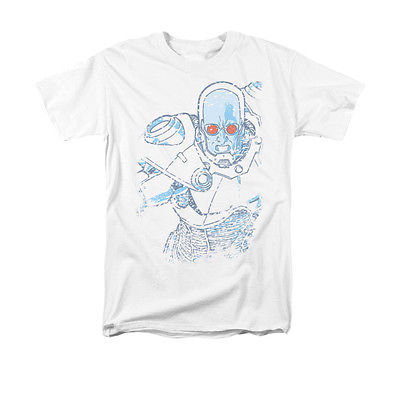 Mr. Freeze Snowblind T-shirt Batman comic superhero villain cotton graphic tee