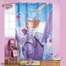 Disney Sofia The First Princess Room Bedroom Curtain Decoration Gift Lim... - $74.25
