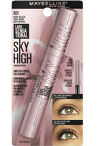 Maybelline SKY HIGH Lash Sensational Mascara Very Black 801 Washable Tik Tok - $19.70