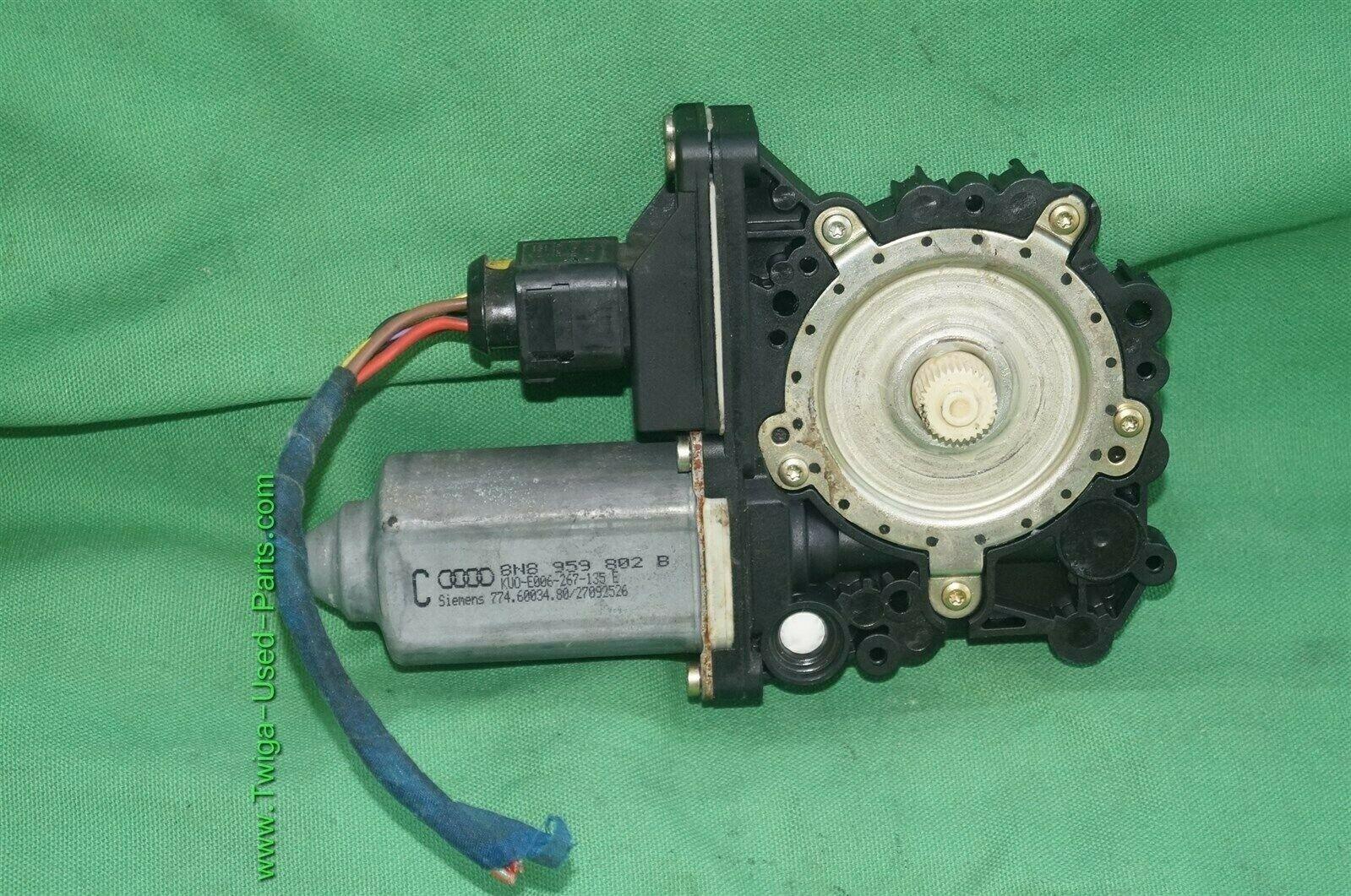 98-06 Audi TT Quatro Coupe Window Regulator Motor Front Right Passnger Side - RH