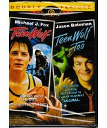 Teen Wolf (1985)/Teen Wolf Too (1987) Double Feature Widescreen DVD - $8.99
