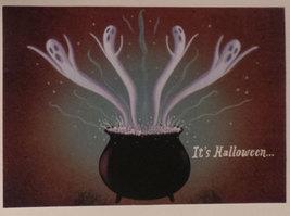 "Greeting Halloween Card ""It's Halloween!"" - $1.50"