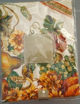 "70"" Fall/Autumn Tablecloth - Woodland Harvest Tablecloth  Polyester Blend#061715 - $14.99"