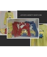 Minion Kid's Shirt Yellow Sz 8 NWT Long Sleeved - $10.99