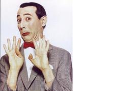 Pee Wee Herrman Paul Reubens Hands Up Vintage 16X20 Color TV Memorabilia... - $29.95