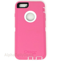 OtterBox Defender 360 Protective Case iPhone 6 6S Plus Hibiscus Frost Pink - $19.95