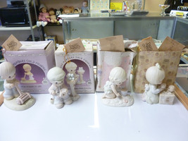 Precious Moments Figurines Lot of 4  - All Are Members Only Figurines - $59.49