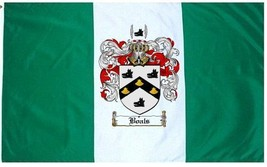 Boals Coat of Arms Flag / Family Crest Flag - $29.99