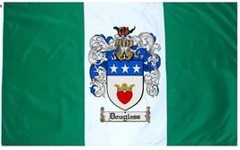 Douglass Coat of Arms Flag / Family Crest Flag - $29.99