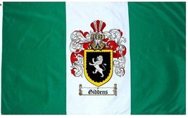 Giddens Coat of Arms Flag / Family Crest Flag - $29.99