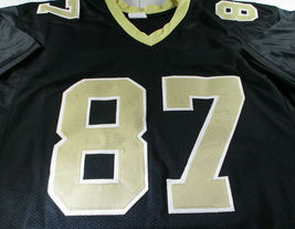 JARED COOK / AUTOGRAPHED NEW ORLEANS SAINTS CUSTOM FOOTBALL JERSEY / JSA COA image 2