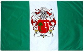 Acha Coat of Arms Flag / Family Crest Flag - $29.99