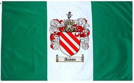 Anson Coat of Arms Flag / Family Crest Flag - $29.99