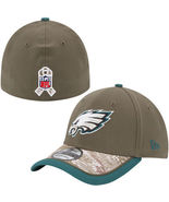 PHILADELPHIA EAGLES NFL SALUTE TO SERVICE SIDELINE HAT NEW ERA SMALL / M... - $39.99