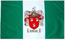 Galbraith Coat of Arms Flag / Family Crest Flag - $29.99