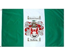 Lafferty Coat of Arms Flag / Family Crest Flag - $29.99
