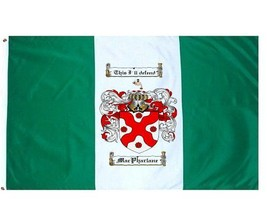 Macpharlane Coat of Arms Flag / Family Crest Flag - $29.99