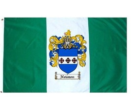 Newson Coat of Arms Flag / Family Crest Flag - $29.99