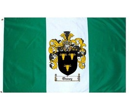 Oxney Coat of Arms Flag / Family Crest Flag - $29.99