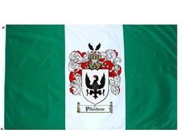 Pfleiderer Coat of Arms Flag / Family Crest Flag - $29.99