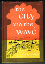 The City and the Wave by Jon Godden 1954 1st Ed fiction india VG+/VG - $25.00