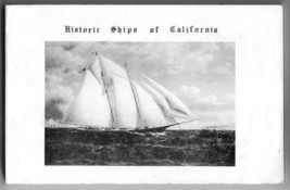 Historic Ships of California by Martin P Riegel 1988 nautical sailing boats - $25.00