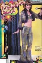 70'S PSYCEDLIC  SUZIE ADULT COSTUME ONE SIZE FITS MOST - $35.00