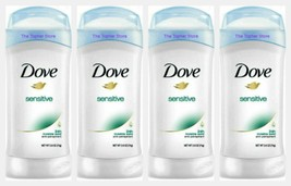 Dove SENSITIVE Women's Invisible Solid Antiperspirant Deodorant 2.6 oz, ... - $23.36
