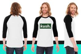 kush. American Apparel Unisex 3/4 Sleeve T-Shirt - $29.99+
