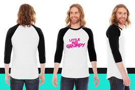 little miss grumpy American Apparel Unisex 3/4 Sleeve T-Shirt - $29.99+
