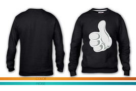 thumbs up crewneck sweatshirt - $35.99+
