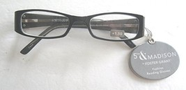 5Th & Madison Foster Grant Women's ELLIE Black with Silver Side Accent +... - $19.99
