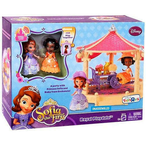 Primary image for Disney Sophia The First Ruby Royal Playdate Playset Mattel Ltd Ed Set ToysRuS