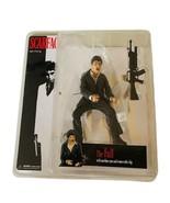 Scarface Action Figure Mezco Al Pacino Gangster MOC toy Tony Montana vtg... - $94.05