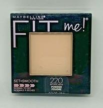 Maybelline New York Fit Me Set + Smooth Powder 220 Natural Beige - $9.89