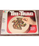 TRI TRAC 2 PLAYER STRATEGY GAME 1980 MILTON BRADLEY COMPLETE EXCELLENT - $20.00