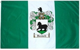Barnwill Coat of Arms Flag / Family Crest Flag - $29.99
