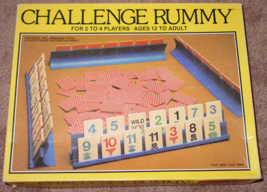 Challenge Rummy Game 1981 Whitman Western Publishing Complete Excellent - $10.00