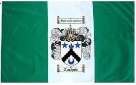 Cushnie Coat of Arms Flag / Family Crest Flag - $29.99