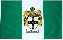 Dewanceio Coat of Arms Flag / Family Crest Flag - $29.99