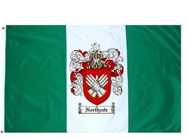 Northcate Coat of Arms Flag / Family Crest Flag - $29.99