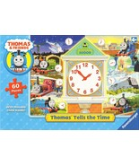 Ravensburger Thomas Tells the Time Puzzle Movable Clock Hands Rare 2008 ... - $9.90