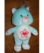 Proud Heart Cat Care Bear Cousins Stuffed Toy Animal Doll 2002 Approxima... - $6.00