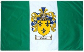 Adami Coat of Arms Flag / Family Crest Flag - $29.99