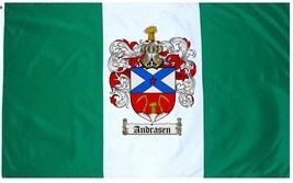 Andrasen Coat of Arms Flag / Family Crest Flag - $29.99