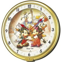 New SEIKO CLOCK Disney time wall clock Mickey FW521G F/S From Japan   - $137.60