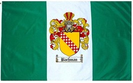 Bachman Coat of Arms Flag / Family Crest Flag - $29.99