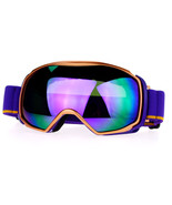 Snowboard Ski Goggles Sports Goggle Color Mirror Antifog Double Lens - $25.95
