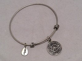 Bella Ryann Fire Department Silver Charm Bangle Bracelet [Jewelry]
